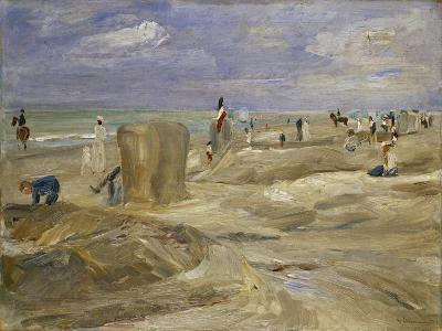 Beach at Noordwijk-Max Liebermann-Giclee Print