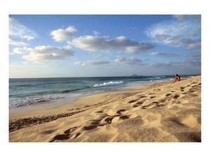 Beach at Ponta do Sino near Santa Maria, Island of Sal, Cape Verde