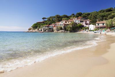 Beach at Scaglieri Bay, Island of Elba, Livorno Province, Tuscany, Italy-Markus Lange-Photographic Print