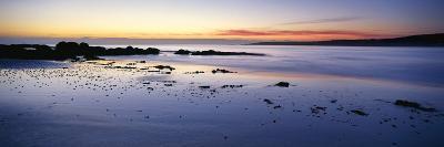 Beach at Sunrise, Jeanneret Beach, Bay of Fires National Park, Tasmania, Australia--Photographic Print