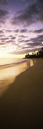 Beach at Sunset, Lanikai Beach, Oahu, Hawaii, USA--Photographic Print