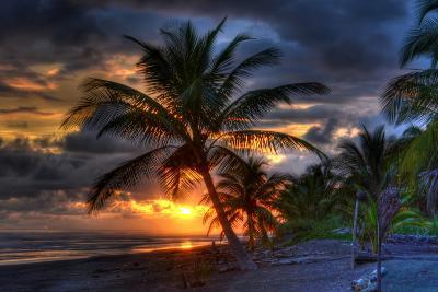 Beach at Sunset-Robert Kaler-Photographic Print