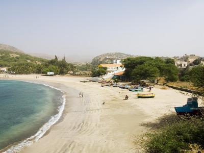 Beach at Tarrafal, Santiago, Cape Verde Islands, Africa-R H Productions-Photographic Print