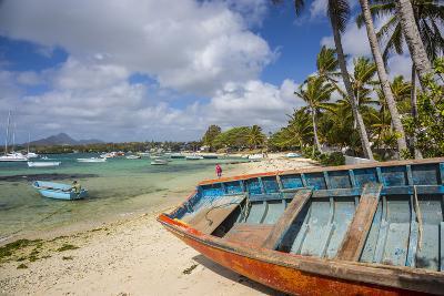 Beach at Trou D'Eau Douce, Flacq, East Coast, Mauritius-Jon Arnold-Photographic Print