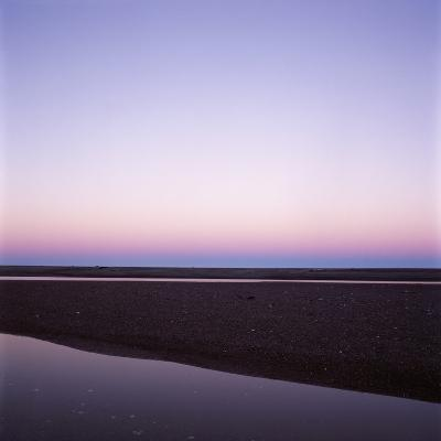 Beach at Twilight-Micha Pawlitzki-Photographic Print