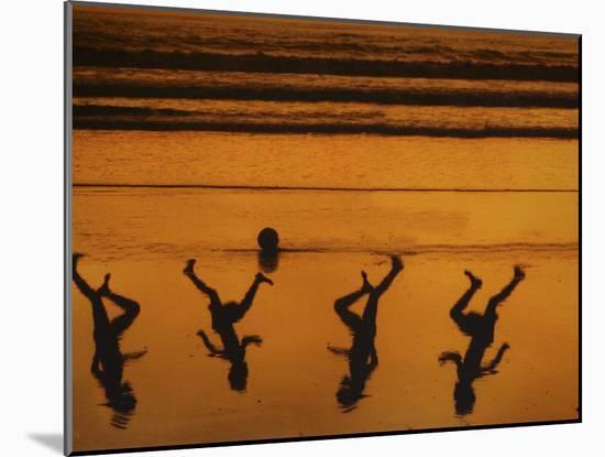 Beach Ball-Banksy-Mounted Giclee Print