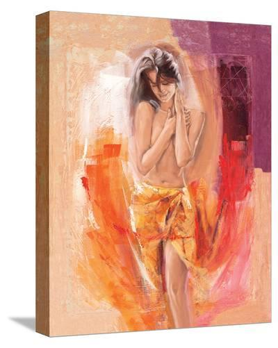 Beach Beauty-Talantbek Chekirov-Stretched Canvas Print