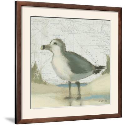 Beach Bird II-James Wiens-Framed Photographic Print