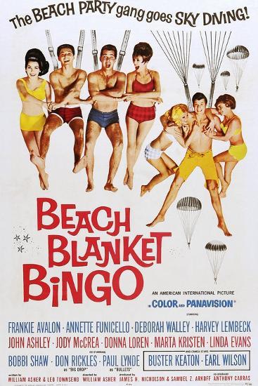 Beach Blanket Bingo--Art Print