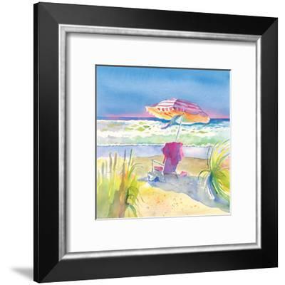 Beach Bliss II-Theresa Heidel-Framed Art Print