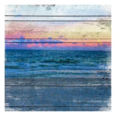 Beach Blues 2-Cynthia Alvarez-Art Print