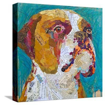 Beach Boxer--Stretched Canvas Print
