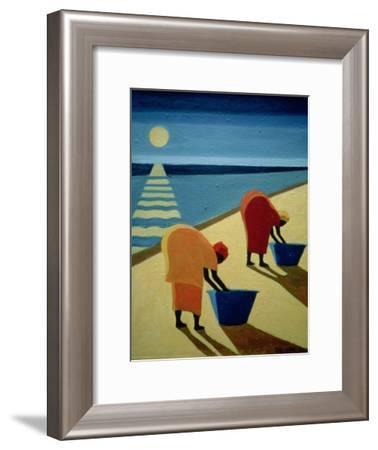 Beach Bums, 1997-Tilly Willis-Framed Giclee Print