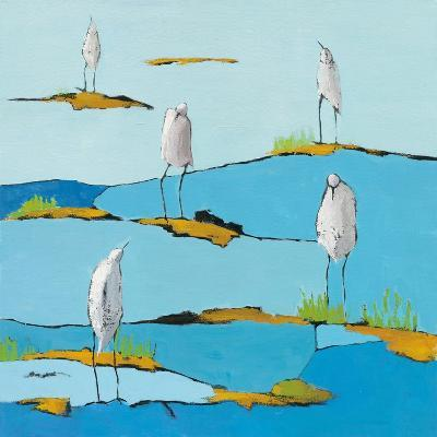 Beach Bums V2-Phyllis Adams-Art Print