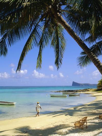 Beach, Cap Malheureux, Mauritius-G Richardson-Photographic Print