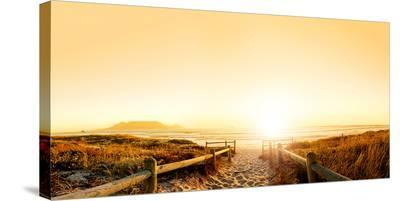 Beach Cape Town South Africa.--Stretched Canvas Print