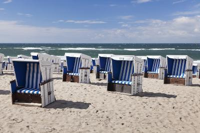 Beach Chairs on the Beach of Westerland-Markus Lange-Photographic Print