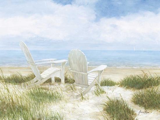 Beach Chairs-Arnie Fisk-Giclee Print