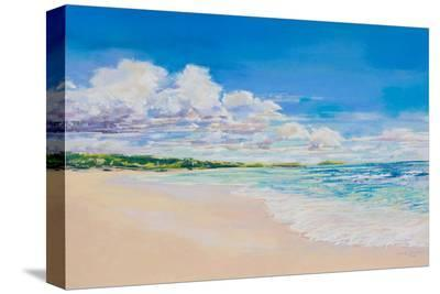 Beach Clouds--Stretched Canvas Print