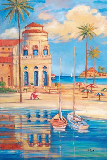 Beach Club I-Paul Brent-Art Print