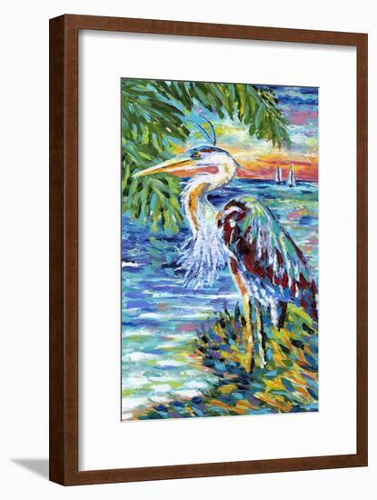 Beach Comber II-Carolee Vitaletti-Framed Art Print