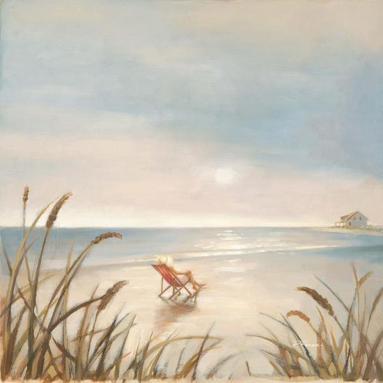 Beach Cottage-Paulo Romero-Premium Giclee Print
