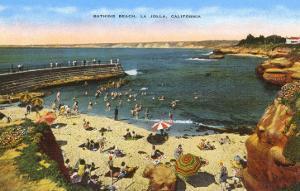 Beach, Cove, La Jolla, California