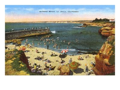 Beach, Cove, La Jolla, California--Art Print