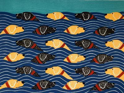 Beach Cover Sheet-Stephen Huneck-Giclee Print