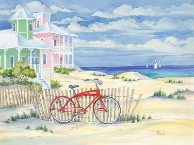 Beach Cruiser Cottage I-Paul Brent-Art Print
