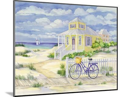 Beach Cruiser Cottage II-Paul Brent-Mounted Print