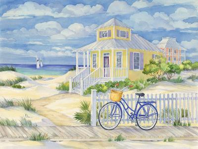 Beach Cruiser Cottage II-Paul Brent-Art Print
