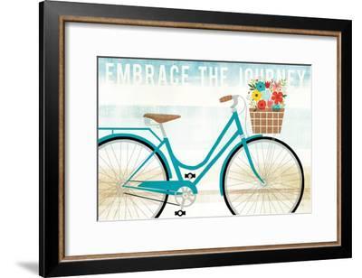 Beach Cruiser Hers I-Michael Mullan-Framed Art Print