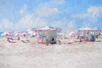 Beach Day II - In the Style of Oil Painting-Philippe Hugonnard-Giclee Print