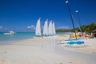 Beach, Dickenson Bay, St. Georges, Antigua, Leeward Islands-Frank Fell-Photographic Print
