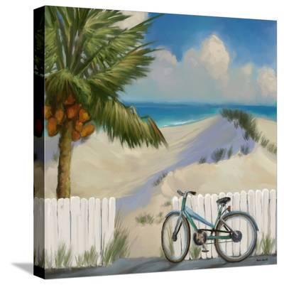 Beach Dunes 01-Kurt Novak-Stretched Canvas Print