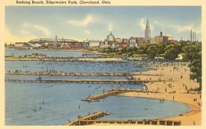 Beach, Edgewater Park, Cleveland, Ohio