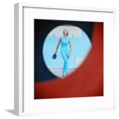 Beach Fashions-Gordon Parks-Framed Premium Photographic Print