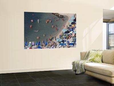 Beach from Hotel Bellevue Syrene-Karl Blackwell-Wall Mural