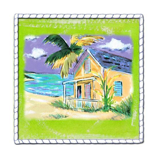 Beach-Front Cottage-Anne Ormsby-Art Print