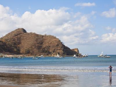 Beach Front, San Juan Del Sur, Nicaragua, Central America-Jane Sweeney-Photographic Print