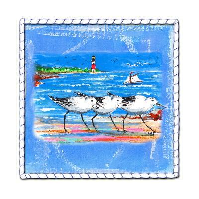 Beach-Front-Shore Birds-Ormsby, Anne Ormsby-Art Print