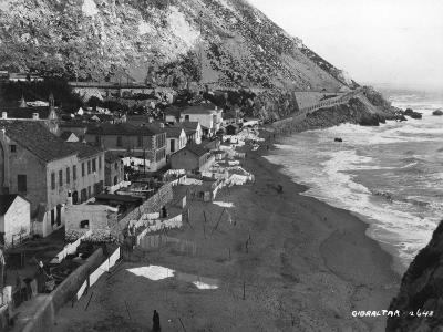 Beach, Gibraltar, C1920S-C1930S--Giclee Print