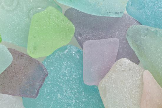 Beach Glass II-Kathy Mahan-Photographic Print