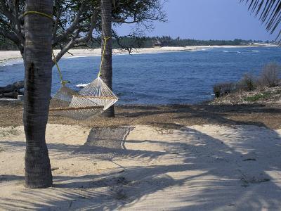 Beach Hammock, Punta Mita, Puerto Vallarta, Mexico-Judith Haden-Photographic Print