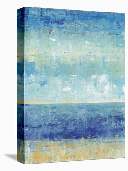 Beach Horizon II-Tim O'toole-Stretched Canvas Print