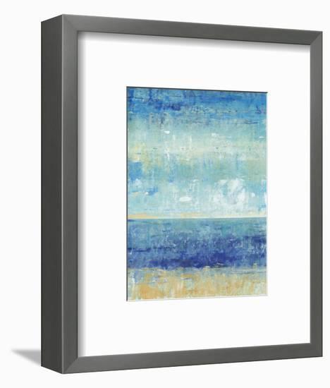 Beach Horizon II-Tim O'toole-Framed Art Print