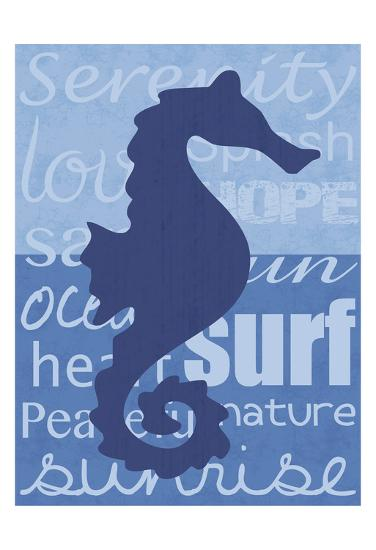 Beach Horse-Lauren Gibbons-Art Print