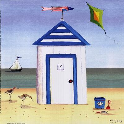 Beach House I-Katharine Gracey-Art Print