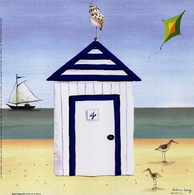 Beach House IV-Katharine Gracey-Art Print